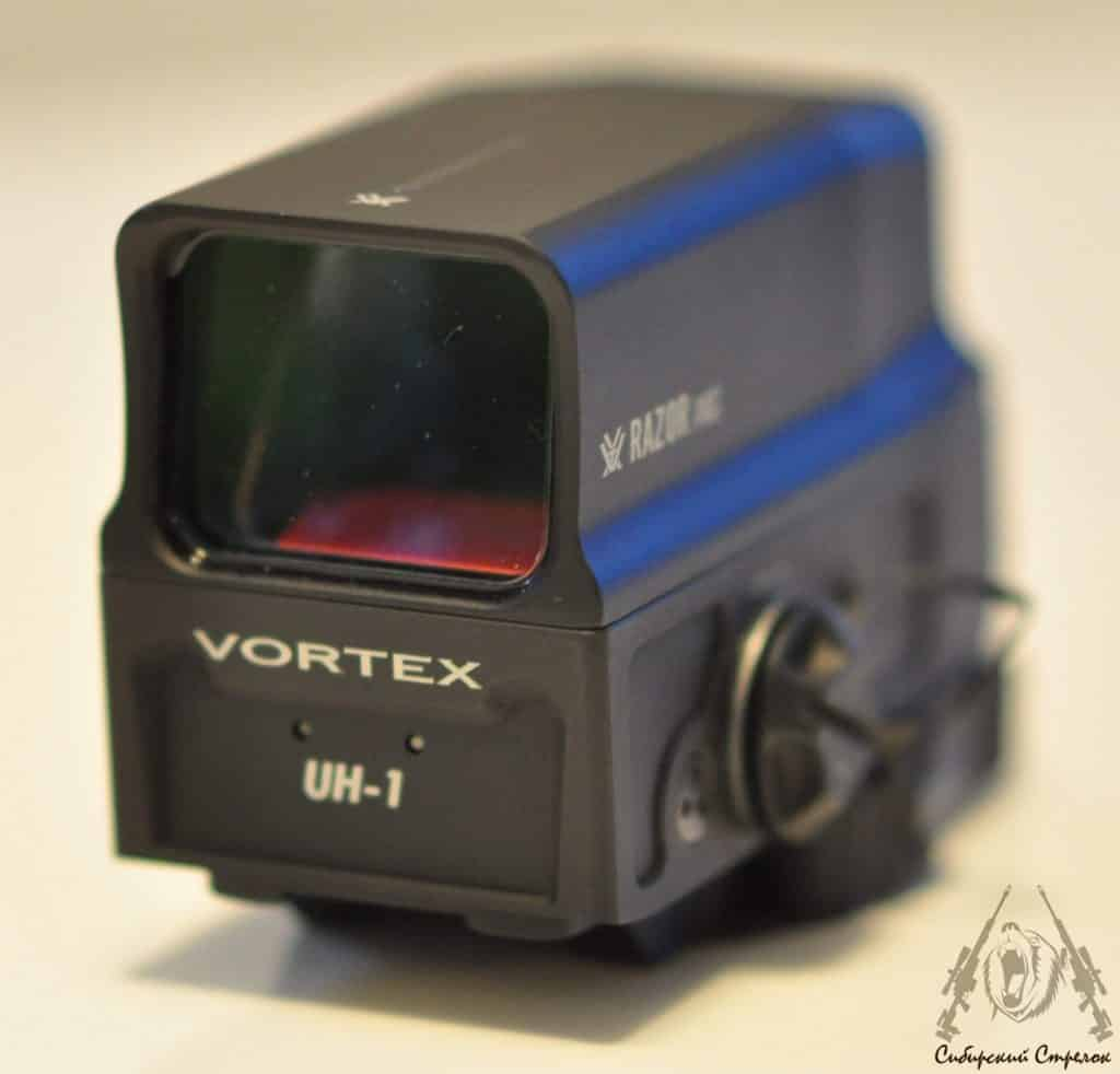 Review and Comparison of Vortex Optics Razor AMG UH1 Holographic Sight vs Eotech XPS2-2 23