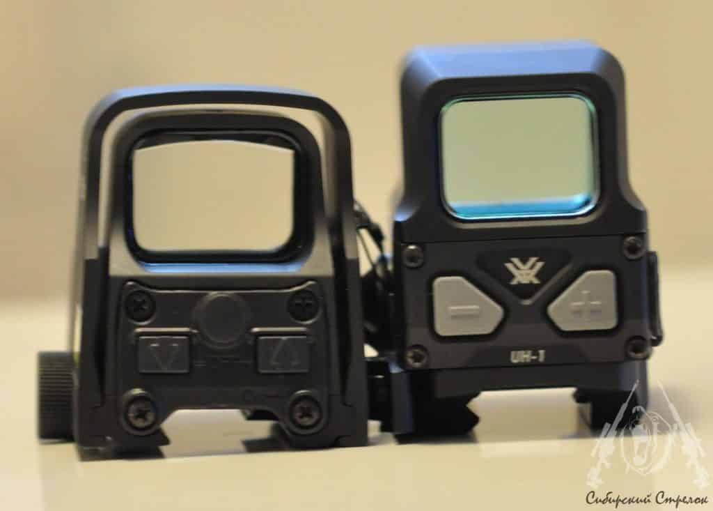 Review and Comparison of Vortex Optics Razor AMG UH1 Holographic Sight vs Eotech XPS2-2 42