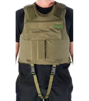 Body Armor Vest with flotation capability level of protection III-A or III 15