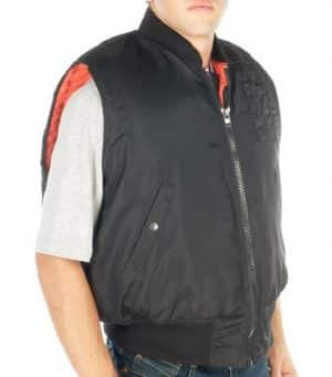 Bulletproof flight jacket without sleeve protection level III-A made by Marom Dolphin 2