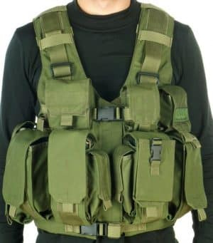 TV7711 Marom Dolphin Combatant Vest with Optional Hydration System Pouch 3
