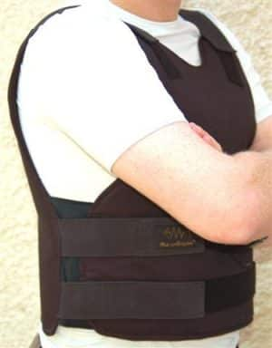 Concealable Bulletproof Vest Level III-A with SIDE protection 120