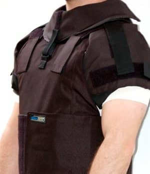 Shoulder Protection - Add on for External Body Armor 11