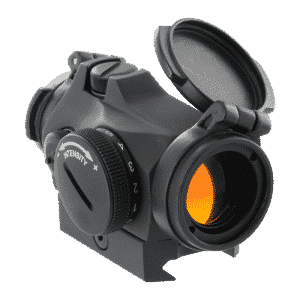 Micro T-2 2MOA Aimpoint Red Dot Sight W/ Integrated Picatinny Mount 17