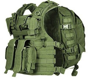 TV7776 Egoz Marom Dolphin Semi Modular Tactical Vest 4