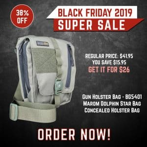 Black Friday 2019 YRSinc - Gun Holster Bag - BG5401 Marom Dolphin Star Bag Concealed Holster Bag(YRS) 3