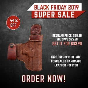 Black Friday 2019 YRSinc - KIRO Reholster IWB (YRS) 3