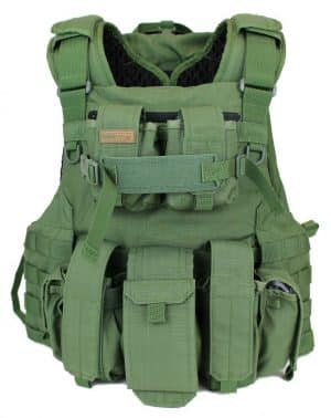 BA8063-01AV New Amran fully Modular Armor Carrier for Military Use made by Marom Dolphin (Green Color Available) 40