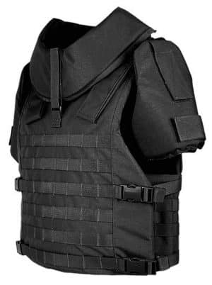 BA8002 Marom Dolphin MOLLE Vest with Ballistic Protection Up To Level IIIA 37