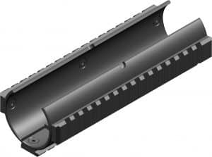 BT-21343 B&T Black 3x NAR Rails Handguard Made Of Aluminum for MP5SD 71