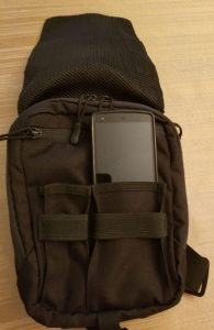 marom dolphin star gun bag holster with your every day carry smartphone