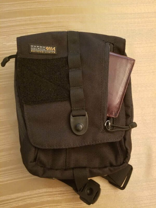 marom dolphin star gun bag holster with your every day carry wallet