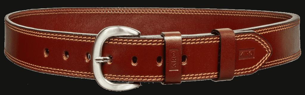 KIRO MOAB Premium Heavy Duty Handmade Leather Belt for Gun Carry 1