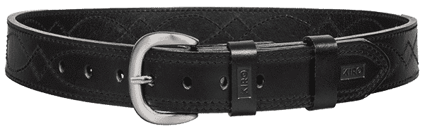 KIRO MOAB DS Premium Heavy Duty Dress Stitched Handmade Leather Belt for Gun Carry 2