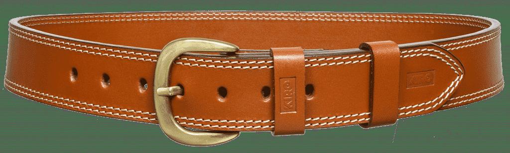 KIRO MOAB Premium Heavy Duty Handmade Leather Belt for Gun Carry 2