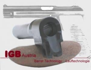 IGB Austria Custom Barrel For SIG P210 - 9x19 & 9x21 Caliber 12