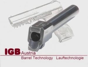 IGB Austria Custom Barrel For HK P30 - 9x19 & 9x21 Caliber 10