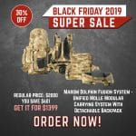 Black Friday 2019 YRSinc – Marom Dolphin Fusion System – Unified Molle Modular Carrying System With Detachable Backpack (YRS)