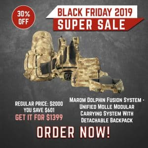Black Friday 2019 YRSinc - Marom Dolphin Fusion System - Unified Molle Modular Carrying System With Detachable Backpack (YRS) 3