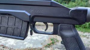 ZFIInc KPYK CRC 7U001 Cerakote Coated chassis for Mosin-Nagant - Near Trigger 3
