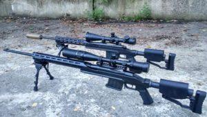 ZFIInc KPYK CRC 7U001 Cerakote Coated chassis for Mosin-Nagant - Two Guns Side 3