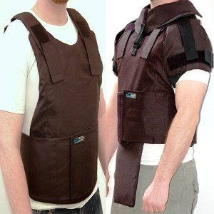 External Body armor protection level III-A with option for detachable add-ons 21