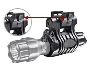UFH3P CAA Tactical Picatinny Quick Release Light/laser Mount Made of Polymer 11