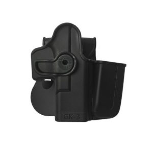 IMI-Z1023 - Polymer Retention Holster with Integrated Magazine Pouch for Glock 17/19/22/23/28/31/32/36 Gen 4 Compatible 11