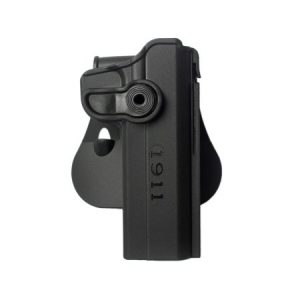 "IMI-Z1030 - Polymer retention Roto Holster for 1911 Variants with and without rails, 5"" 3"