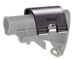 "CP1 CAA Cheek Piece for Existing AR15 Collapsible Stocks .7"" Rise for use with Holographic and Optical Sights 5"