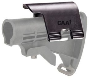 "CP2 CAA Cheek Piece for Existing AR15 Collapsible Stocks 1.25"" Rise for use with Iron Sights 6"