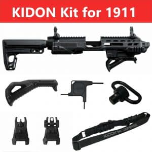 IMI Defense KIDON Innovative Pistol to Carbine Platform for 1911 Narrow & Medium Beaver Tail 284