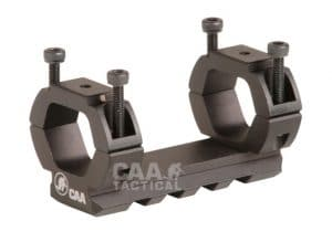 SGR1 CAA Tactical One Barrel Mounted Picatinny Rail Made of Aluminium for 12ga' & AR15 Type Barrels 20