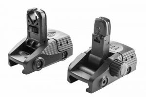 BGF + BGR CAA Picatinny Front and Rear Flip-Up Sights (New) 16