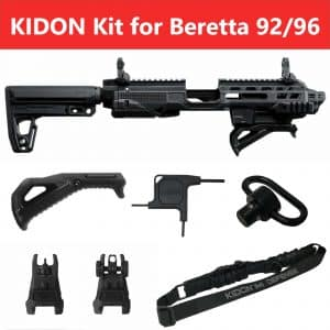 IMI Defense KIDON Innovative Pistol to Carbine Platform for Beretta 92-A1, 96-A1, M9-A1 12