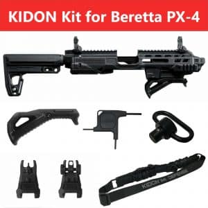 IMI Defense KIDON Innovative Pistol to Carbine Platform for Beretta PX-4 13