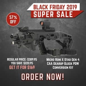 Black Friday 2019 YRSinc - Micro Roni X Stab Gen 4 CAA Gearup Glock PDW Conversion Kit - Available For Immediate Shipment (YRS) 3