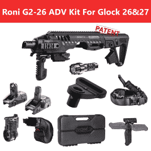ROADV G2-26 CAA Roni Advanced Kit for Glock 26 & 27 5