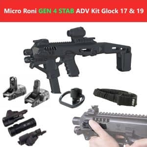 CAA Gearup PDW Converter Micro Roni X Stab Gen 4 Advanced Kit with Extended Stabilizer Stock 11