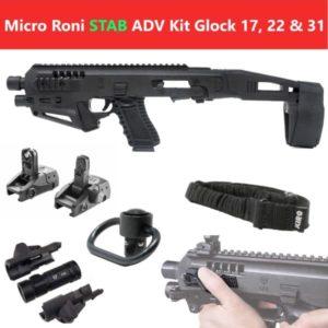 MIC-ROADV Stab CAA Gearup Micro Roni® Stab Advanced Kit for Glock 17, 22 & 31 5