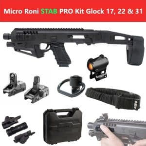 MIC-ROPRO STAB CAA Gearup Micro Roni® Stabilizer Professional Kit for Glock 17, 22 & 31 13