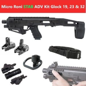 MIC-ROADV Stab CAA Gearup Micro Roni® Stab Advanced Kit for Glock 19, 23 & 32 6