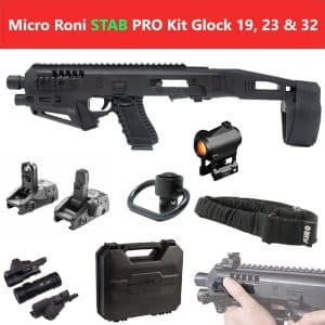 MIC-ROPRO STAB CAA Gearup Micro Roni® Stabilizer Professional Kit for Glock 19, 23 & 32 14