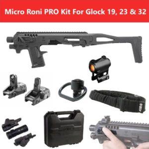 MIC-ROPRO CAA Gearup Micro Roni® Professional Kit for Glock 19, 23 & 32 12