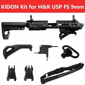 IMI Defense KIDON Innovative Pistol to Carbine Platform for H&K USP FS 9mm/.40/.45 18