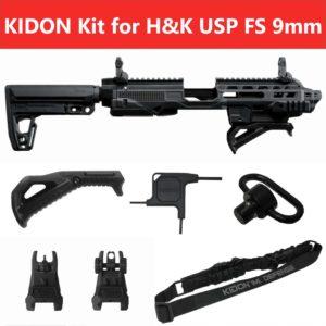 IMI Defense KIDON Innovative Pistol to Carbine Platform for H&K USP FS 9mm/.40/.45 16