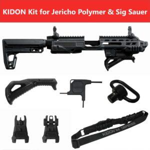 KIDON IMI Defense Innovative Pistol to Carbine Platform for Jericho Polymer Frame & Sig Sauer P320 X Five 6