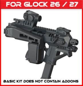 Micro Roni Gen 4 Glock 26-27 Stab 3