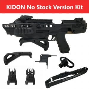 IMI Defense KIDON Innovative Pistol to Carbine Platform for H&K P-2000 FS 1
