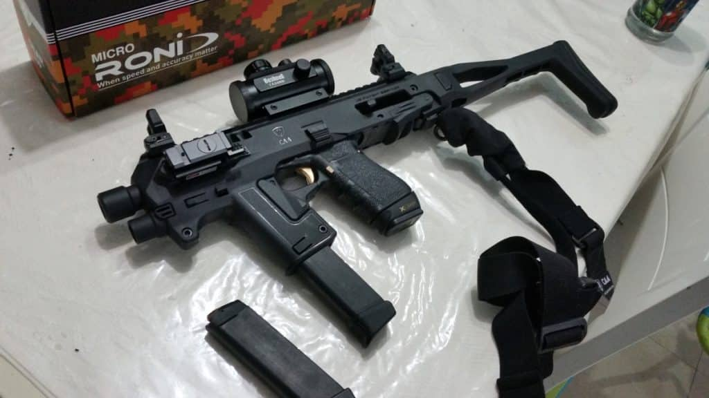 Micro Roni for Glock Review by an Israeli Police Detective 2